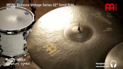Meinl 22 Zoll Byzance Sand Ride