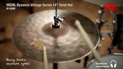 Meinl 14 Zoll Byzance Vintage Sand Hi-Hat
