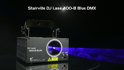 Stairville DJ Lase 400 Blue