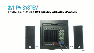 LD Systems Dave 8 Roadie: kompaktes PA System