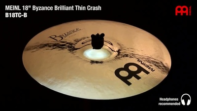 Meinl Byzance Serie: 18 Thin Crash