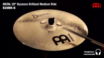 Meinl Byzance Serie: 20'' Medium Ride