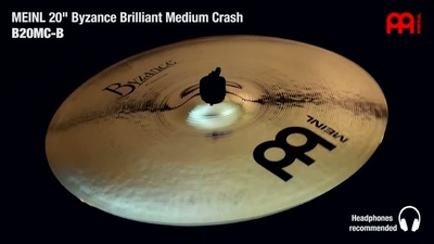 Meinl Byzance Serie: 20 Medium Crash