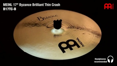 Meinl Byzance Serie: 17 Thin Crash