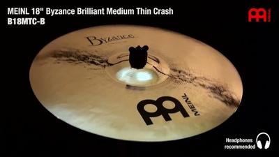 Meinl Byzance Serie: 18 Medium Thin Crash