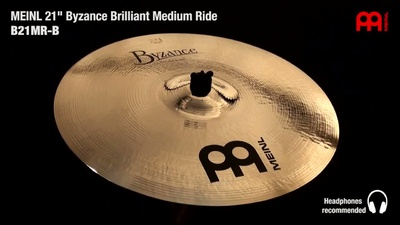 Meinl Byzance Serie: 21 Medium Ride
