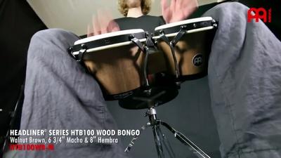 Meinl HTB100WB-M Bongo Set