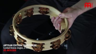 Meinl AE-MTA2BO Artisan Tambourine