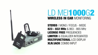 LD Systems MEI 1000 G2