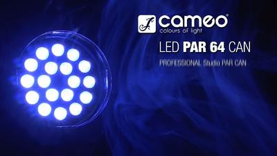 Cameo PAR 64 18x8W - RGBW Led Spot