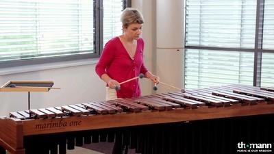 Marimba One Ivana Bilic Mallets Rattan 2