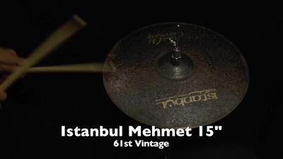 Istanbul Mehmet 15 61st Vintage Hi-Hat