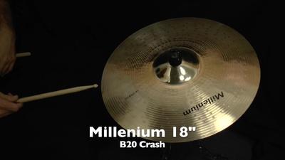 Millenium 18 B20 Crash