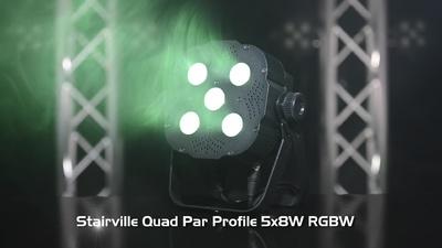 Stairville Quad Par Profile 5x8W RGBW