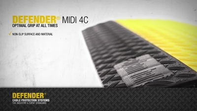 Adam Hall 85301 Defender MIDI 4c