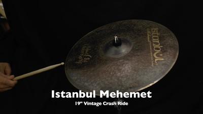 Istanbul Mehmet 19 Vintage Crash Ride