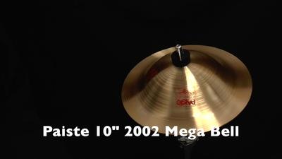 Paiste 10 2002 Mega Bell