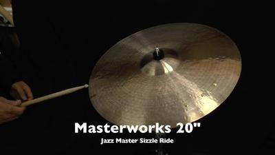 Masterwork 20 Jazz Master Sizzle Ride