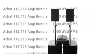 the box pro Achat 110/115 Amp Bundle