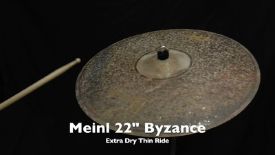 Meinl Byzance Serie 22 Extra Dry Thin Ride