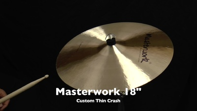 Masterwork Custom Serie 18 Thin Crash