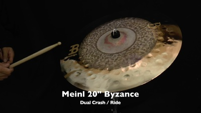 Meinl 20 Byzance Extra Dry Dual Crash/Ride