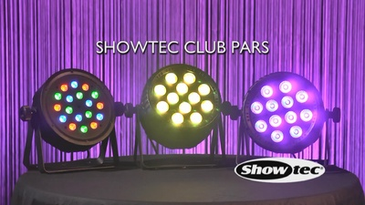 Showtec Club Par 12/4 RGBW