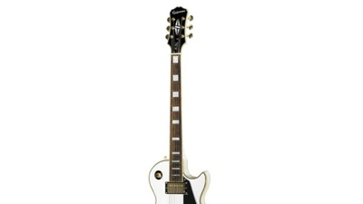 Epiphone Les Paul Custom Pro Alpin White