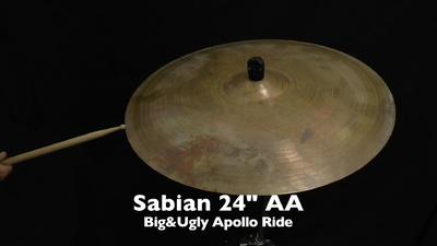 Sabian 24 AA Big&Ugly Apollo Rid