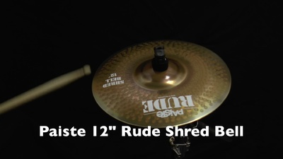 Paiste 12 Rude Shred Bell,