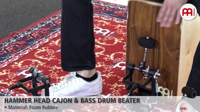 Meinl Hammer Head - Cajon + Bass Drum Beater