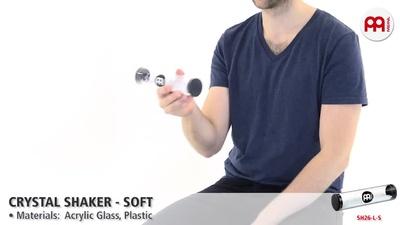 Meinl SH26-L-S - Crystal Shaker Soft