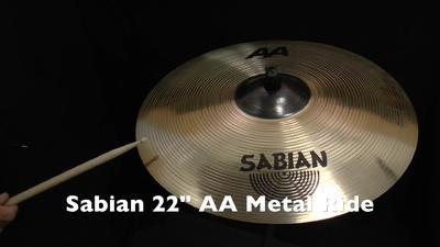 Sabian 22 AA Metal Ride