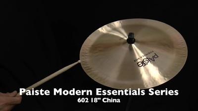 Paiste Formula 602 Modern Essentials Serie