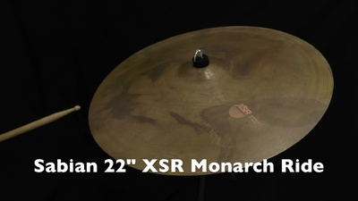 Sabian 22 XSR Monarch Ride Becken