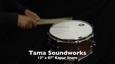 Tama 13x07 Soundworks Kapur Snare