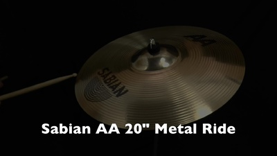 Sabian 20 AA Metal Ride