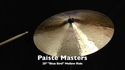 Paiste 20 Masters Mellow Ride Blue Bird