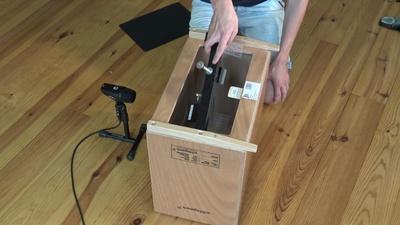 Schlagwerk BC460 Cajon Booster-Boxx