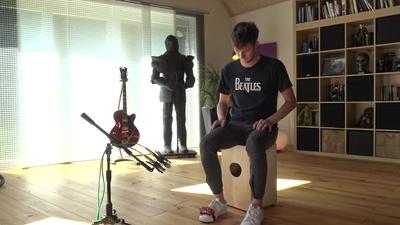 LP188 Foot Tambourine