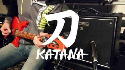 Boss Katana 50 Combo