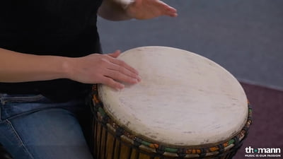 African Percussion DJ107 Djembe Kambala