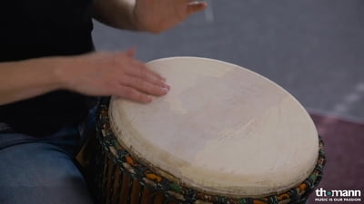 African Percussion Kambala Masterdjembe