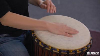 African Percussion BO137 Bougarabou – Thomann UK