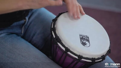 Toca 7 Color Sound Djembe Set