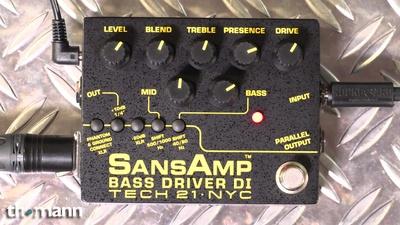Tech 21 Bass Driver DI V2