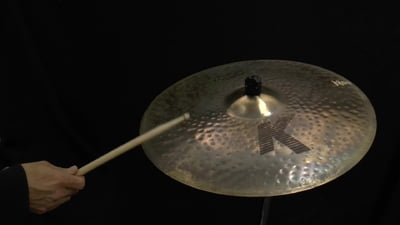 Zildjian 21 K Custom Organic Ride