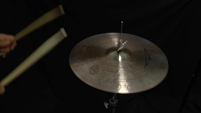Zultan 15 Hi-Hat Dark Matter