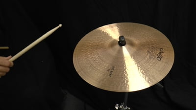 Paiste 19 2002 Black Big Beat Cymbal