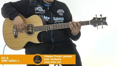 Ortega D2-4 Akustik Bass